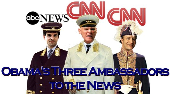President Government's Three Ambassadors to the News Media